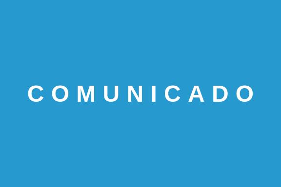 COMUNICADO #1