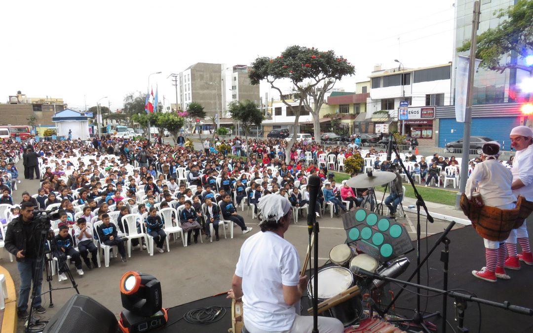 MUNICIPALIDAD DE BELLAVISTA ORGANIZA EL PRIMER ENCUENTRO BINACIONAL DE TEATRO DE TÍTERES